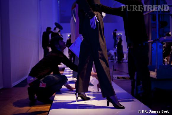 Exposition Yves Saint Laurent : making of
