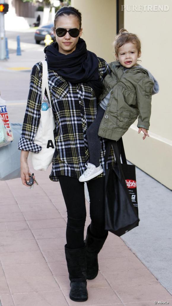 Jessica Alba et sa fille Honor Marie
