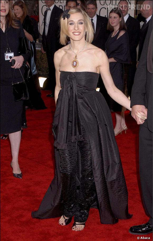 Dès ses débuts Sarah Jessica Parker a montré un faible pour les robes bustier.