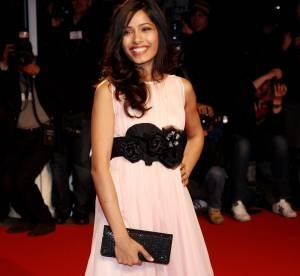 "Robes ""spécial mariage"" : Freida Pinto, inspirez-vous de son style branché !"