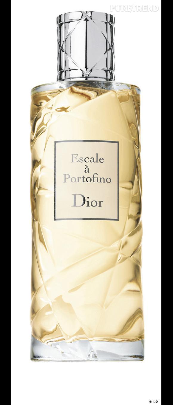 Je veux sentir la femme fatale italienne...     Escale à Portofino , une ôde à la Méditerranée. De l'amande amère, de la fleur d'oranger, de la bergamote de calabre, du cédrat d'Italie et du petit grain de Sicile. Un veritable voyage olfactif en terre italienne. La fraîcheur classique et indémodable d'une eau de cologne.    Escale à Portofino de Dior.  Prix :61.87  €   (75 ml)