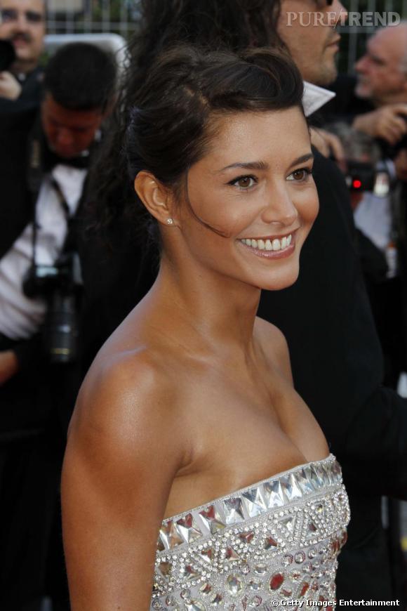 Emma de Caunes était tout sourire lors de la cérémonie de clôture du Festival de Cannes