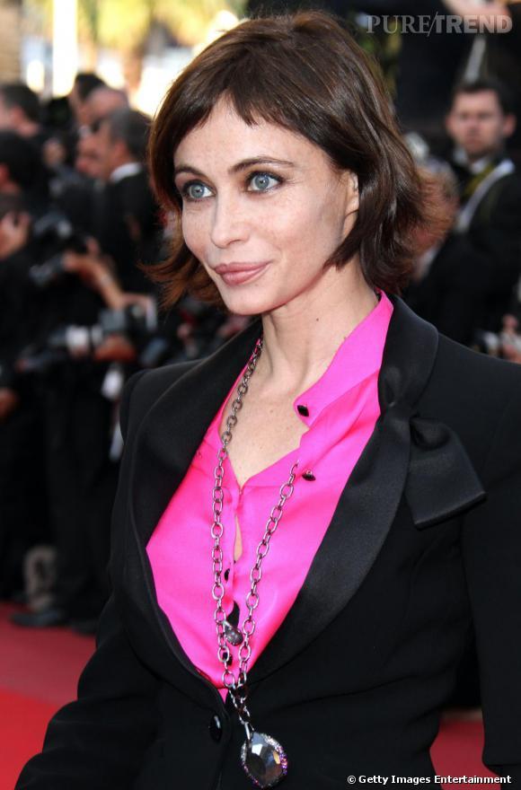 Emmanuelle Béart à la cérémonie de cloture du Festival de Cannes