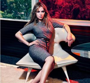Scarlett Johansson pin-up fifties pour Mango