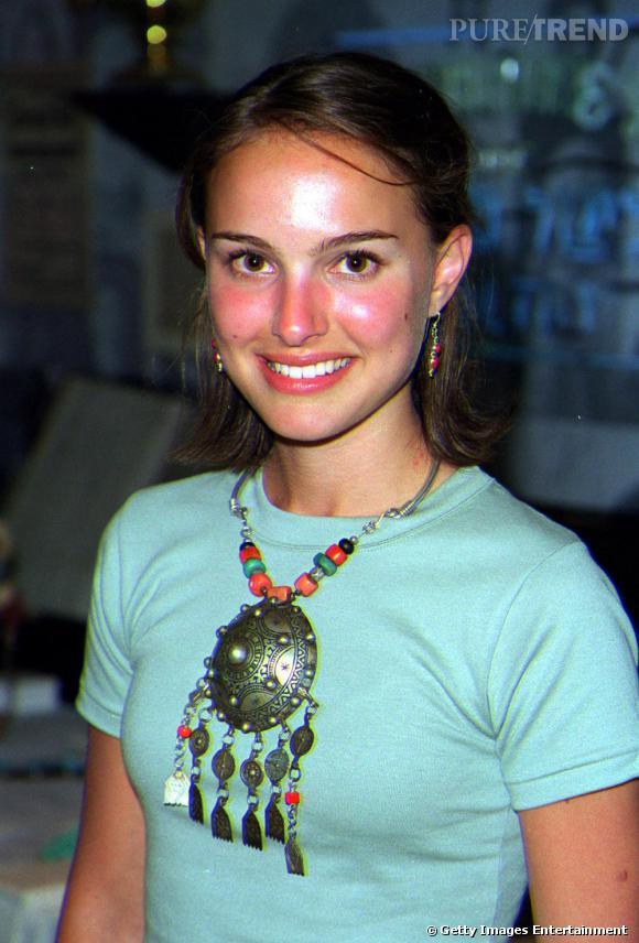 2001 : on comprend maintenant pourquoi Natalie est rarement bronzée. Elle cuit au soleil.