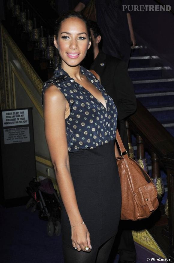 Leona Lewis à la projection de L'Apprenti Sorcier à Londres.