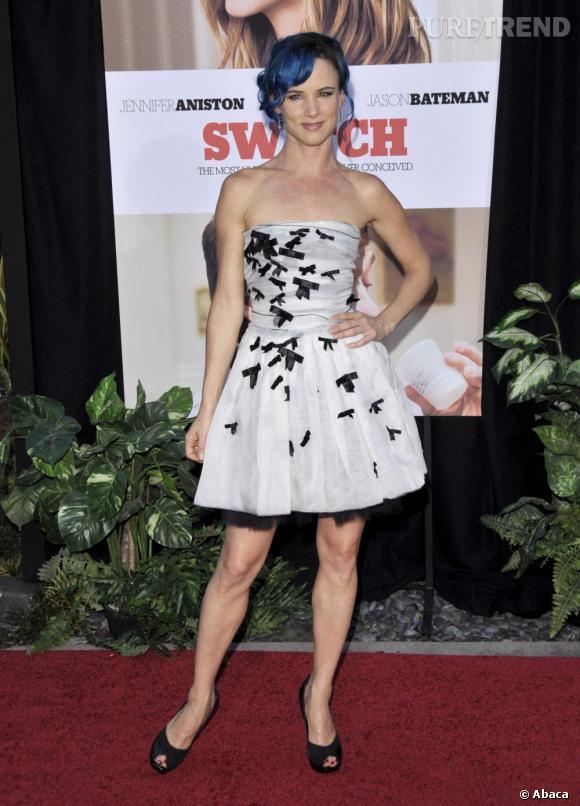 Juliette Lewis à la première de The Switch (Une famille très moderne) à Los Angeles.