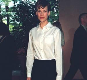 Hilary Swank : l'évolution look d'un garçon manqué