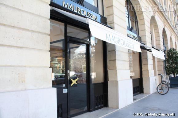 La boutique Mauboussin de la Place Vendôme rénovée