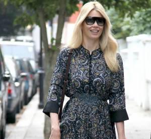Le flop mode : le look asiat' selon Claudia Schiffer