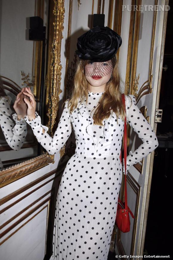 Léa Seydoux à la soirée anniversaire des 90 ans de Vogue à Paris.