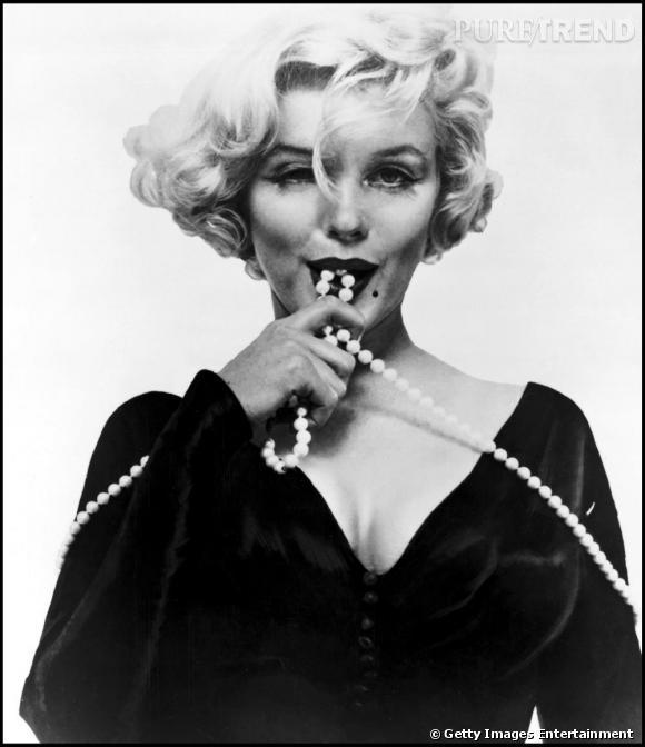 Un cliché de Marilyn pour la promotion de Certains l'aiment chaud en 1959.