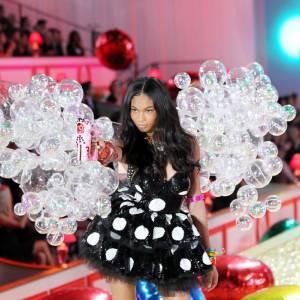 Chanel Iman dans sa bulle.