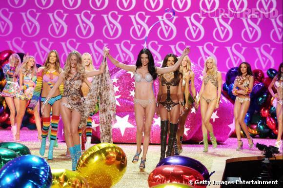 Bouquet final chez Victoria's Secret.