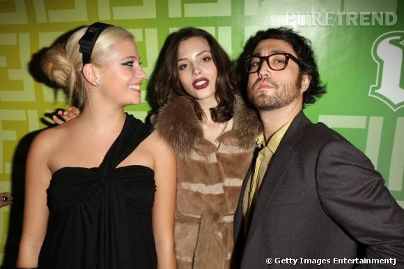 Pixie Lott, Charlotte et Sean Lennon.