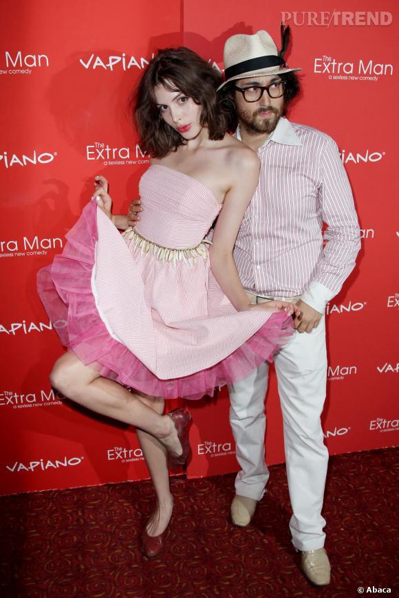Charlotte et Sean, tellement inséparables que leurs garde-robes se ressemblent.