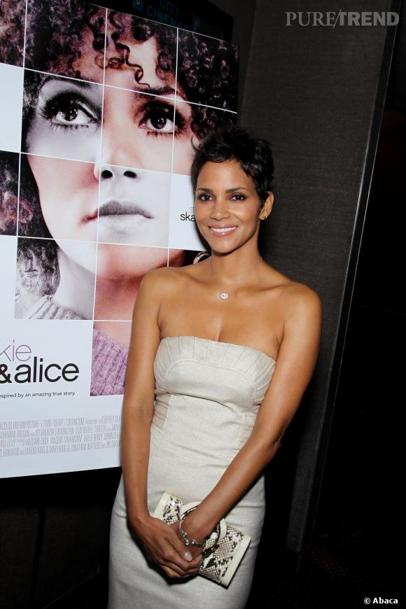 Halle Berry à la projection spéciale de Frankie & Alice à New York.