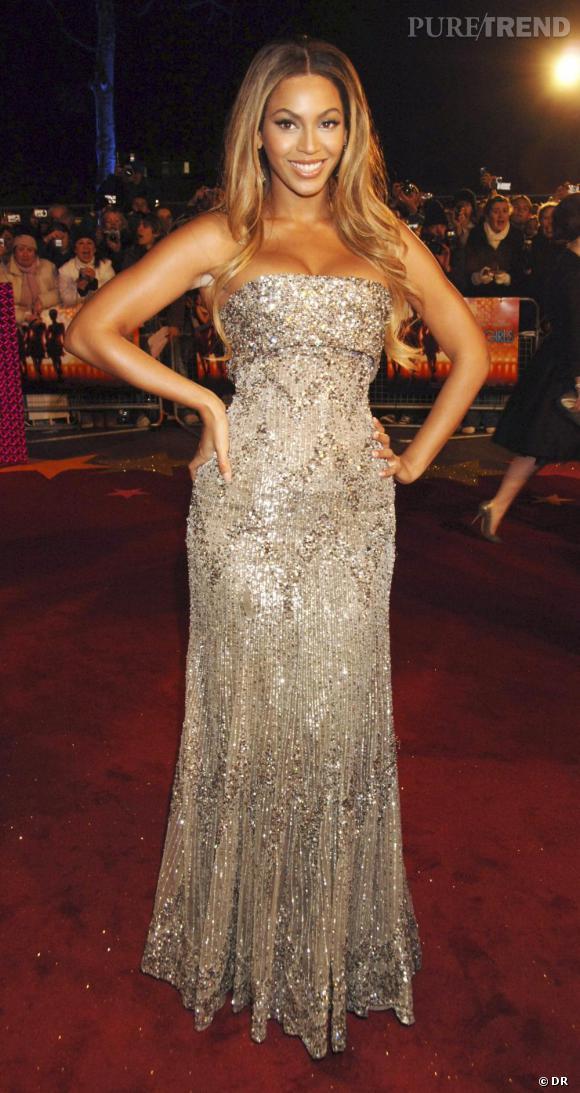 Beyoncé en Elie Saab, 2007.