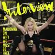 Madonna sur le ring et toujours battante.