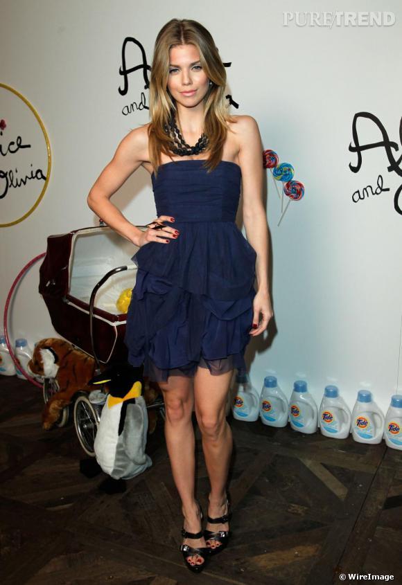 AnnaLynne McCord, un look parfait à la soirée Alice + Olivia à West Hollywood.