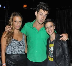 Mark, Charlotte et Samantha Ronson.