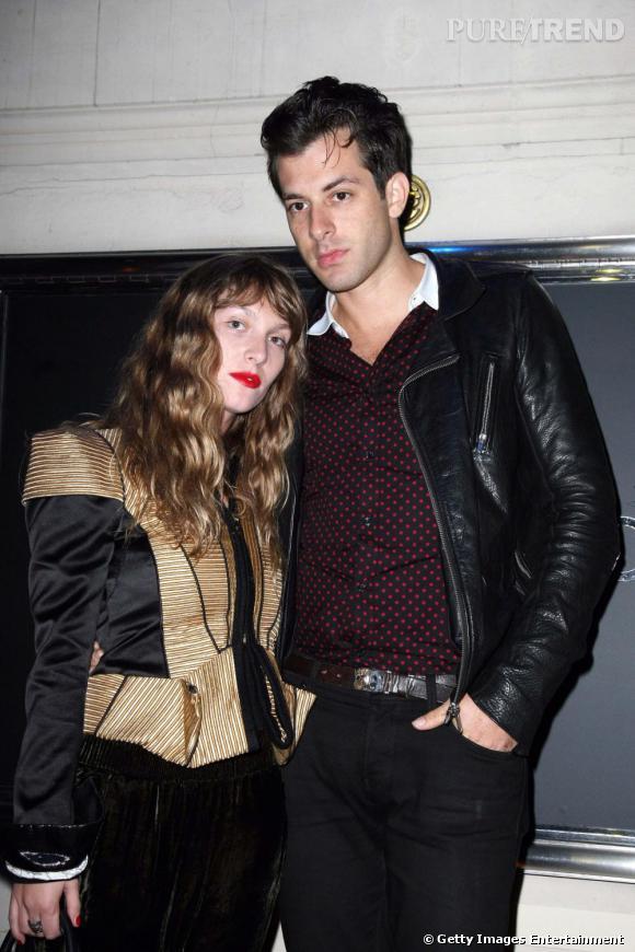 Mark Ronson et Joséphine de la Baume, couple de la hype.