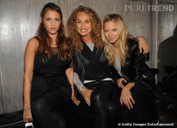 Charlotte, Ann Dexter-Jones et Annabelle.