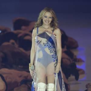 Si Kylie Minogue se rêve en déesse Aphrodite, le retour à la réalité est quelquefois trompeur.