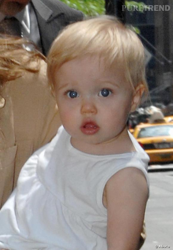 Shiloh Nouvel Jolie-Pitt : la fille de Brad et Angelina a hérité de la beauté de ses deux parents.