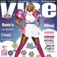 La chanteuse en couverture de Vibe se voit nommée Superwoman du hip hop.