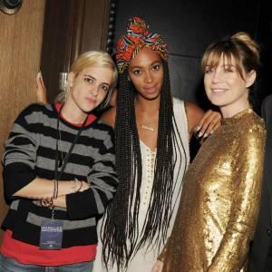 Samantha Ronson, Solange Knowles et Ellen Pompeo, un joli trio.