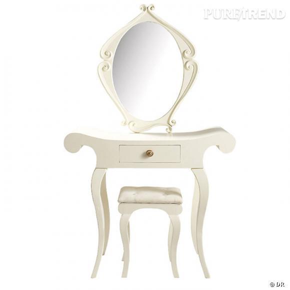 coiffeuse et tabouret maisons du monde une coiffeuse de princesse pour r aliser quelques uns de. Black Bedroom Furniture Sets. Home Design Ideas