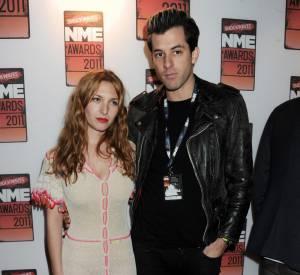 Joséphine de la Baume et son fiancé Mark Ronson.