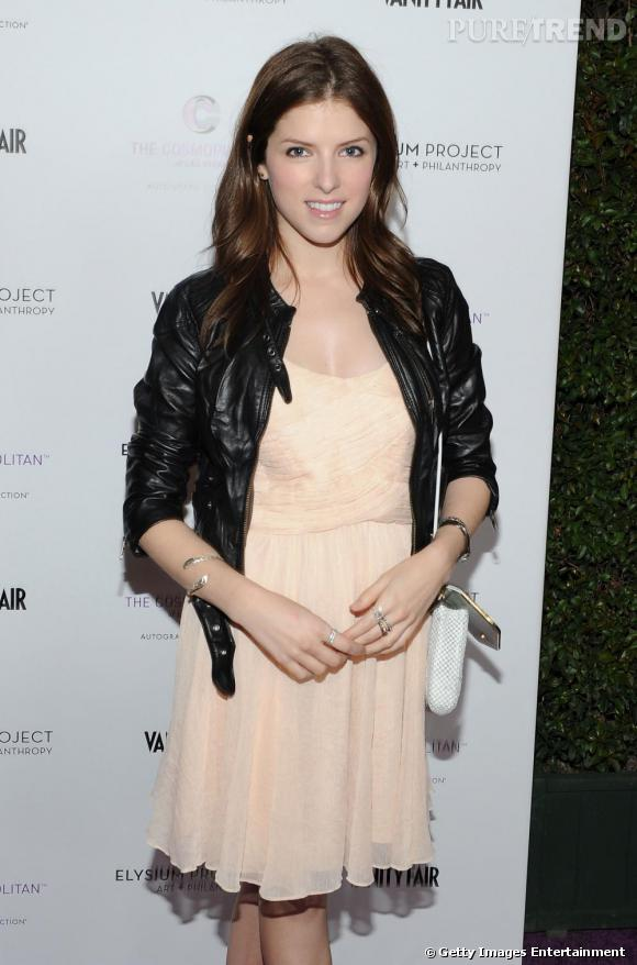 "Anna Kendrick à la soirée ""Vanity Fair Campaign Hollywood""."