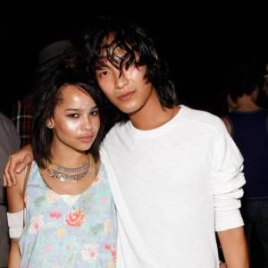 Zoë et son copain Alexander Wang, dont elle est également l'égérie.