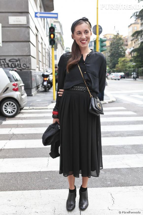 Dans la rue, les modeuses craquent déjà pour le micro format comme à Milan.