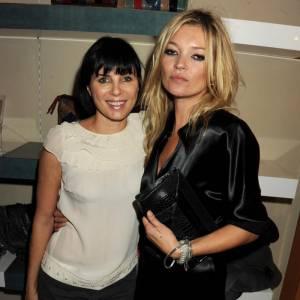 Kate Moss et sa meilleure amie Sadie Frost, toujours l'une près de l'autre.
