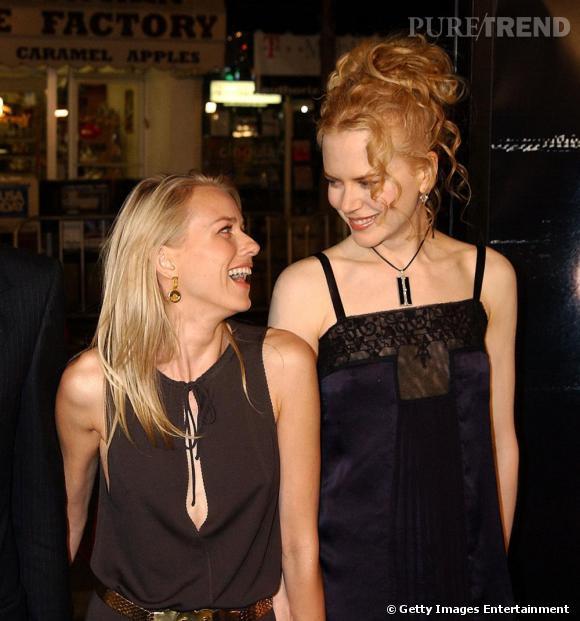 Solidarité australienne oblige, Naomi Watts et Nicole Kidman sont meilleures amies.