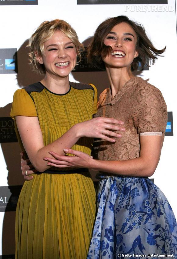 Une amitié pleine de fraicheur, entre deux fashionistas de choc.