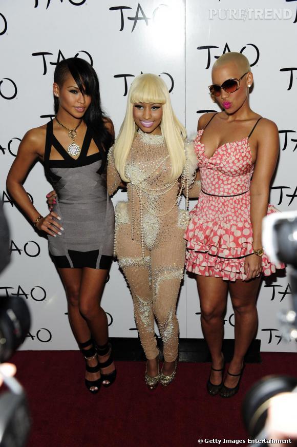 Cassie, Nicki Minaj et Amber Rose, trio de choc un brin cagole.