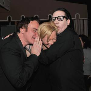 Quentin Tarantino, Tilda Swinton et Marilyn Manson : un trio original.
