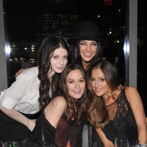 Leighton, Michelle et Jessica, très proches dans la vie réelle.