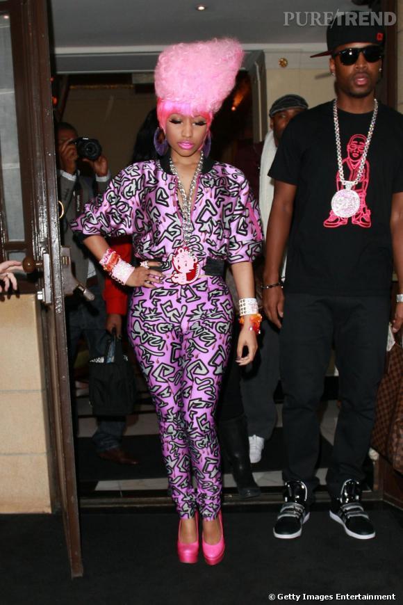 Sous les projecteurs :  Nicki Minaj.