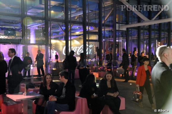 Coca-Cola Light et Karl faisaient les choses en grand au 6e étage du Centre Pompidou.