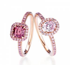 La collection rose de De Beers