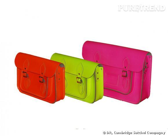 Les cartables fluorescents de The Stachel Compagny sont des must have à adopter absolument ! Ils se déclinent en 4 tailles différentes.