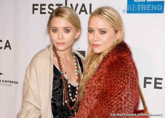 Mary Kate et Ashley Olsen au festival du film Tribeca à New York.