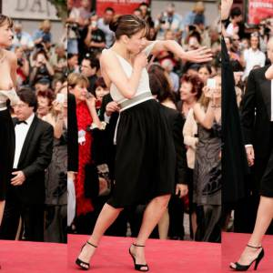 Sophie Marceau lors du festival de Cannes 2005