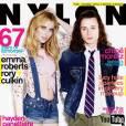 """Avec le très attendu """"Scream 4"""" Rory s'assure un succès populaire et s'offre également la couverture du magazine Nylon en compagnie d'Emma Roberts."""