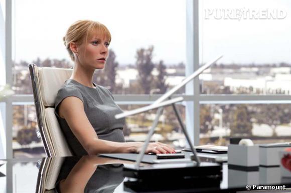 """Gwyneth, c'est :  avant tout, une actrice accomplie, ici dans le film """"Iron Man 2"""" et bientôt dans le film """"Country Strong""""."""